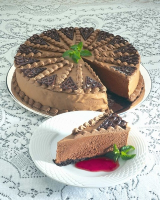 Product picture Recipes for Delicious Chocolate Desserts and Cheesecakes
